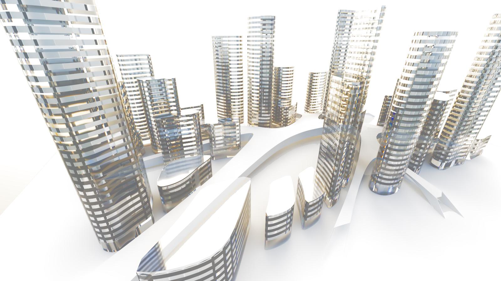RHINOCEROSとGRASSHOPPERですぐにできるハッタリ未来都市の作り方