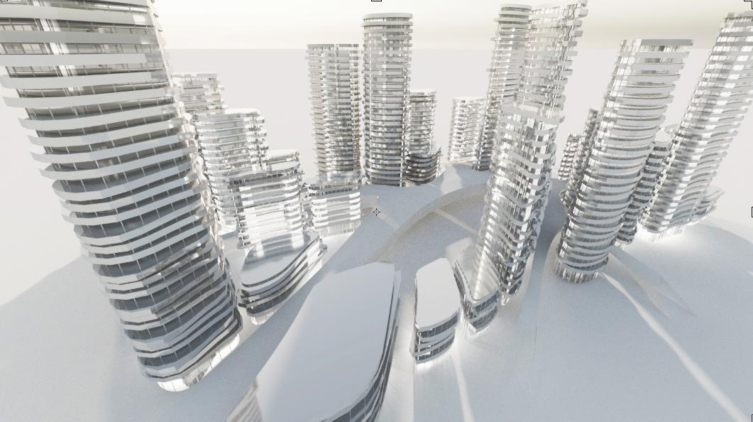 RHINOCEROSとGRASSHOPPERで作るハッタリ未来都市の作り方(2)