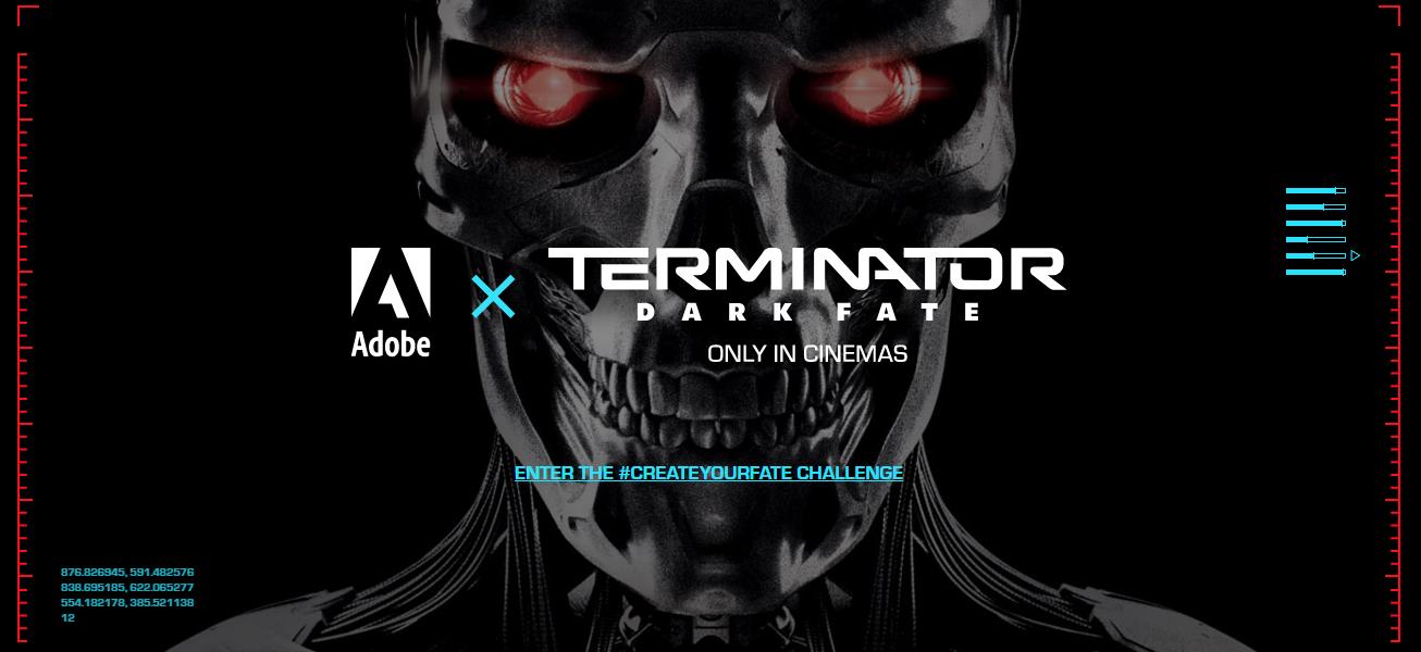 ターミネーター Dark fate trailer(予告編)コンテストに応募してみました