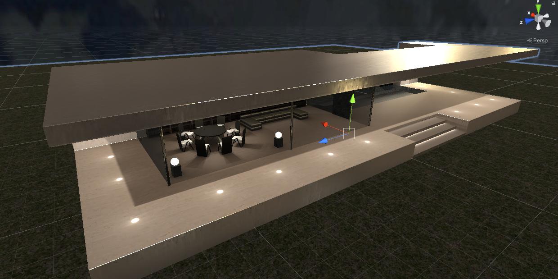 「ボードゲームしかできない家」の設計プロセス:3D環境の構築